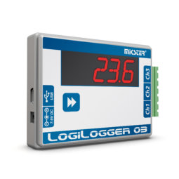 LogiLogger-03 three-channel temperature data logger